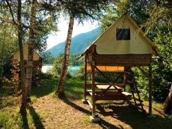 Rental - Bivouac On Piles (Without Toilet Blocks) - Au Valbonheur (Camping le Plan d'Eau)
