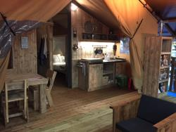 Rental - Lodge Woody - Au Valbonheur (Camping le Plan d'Eau)