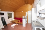 Rental - Chalet  per night  5 pers.( 4 adults + 1 child 6/12 years ) - Camping-Village Marmotel