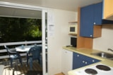 Rental - Mobil home per night 5 pers.( 4 adults + 1 child 6/12 years) - Camping-Village Marmotel