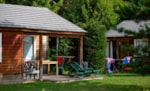 Rental - Chalet ( 4 adults + 1 child 6/12 years)/ week - Camping-Village Marmotel