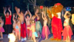 Entertainment organised Camping-Village Marmotel - St Geniez D'olt