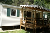 Rental - Mobil Home Louisiane Zen + Fores (3 Bedrooms) - Camping Le Capelan