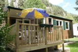 Rental - Mobile Home 'Louisiane' Oakley-Océane-Pacifique - Camping Le Capelan
