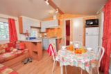 Rental - Mobil home Louisiane Flores (2 Bedrooms) - Camping Le Capelan