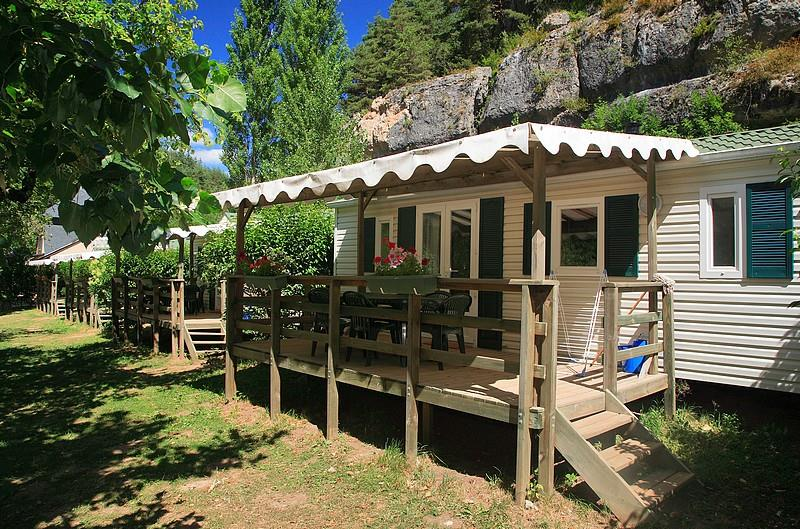 Location - Mobil Home Louisiane Flores (2 Chambres) - Camping Le Capelan