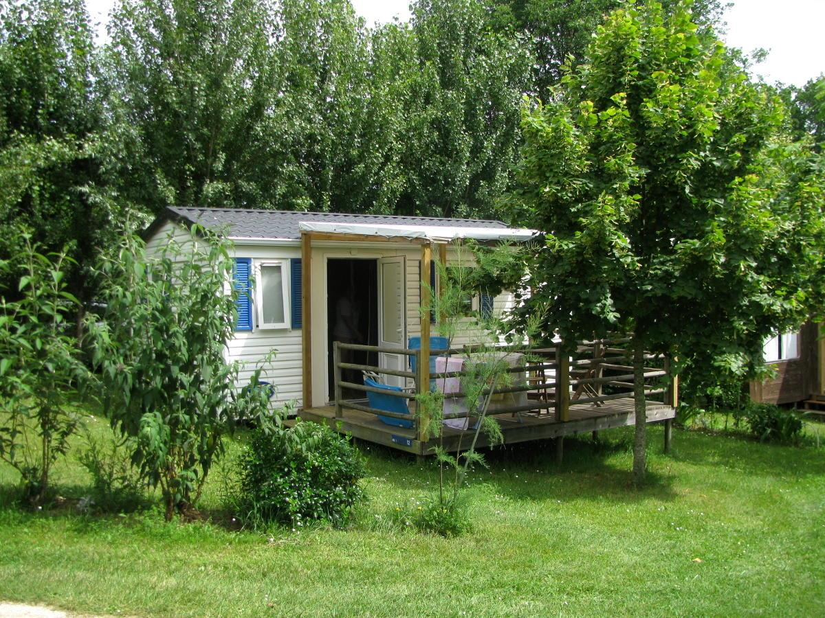 Accommodation - Mobile-Home Without Shower N°1 - Camping naturiste Le Champ de Guiral