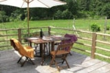 Rental - Mobile-home without shower n°2 - Camping naturiste Le Champ de Guiral