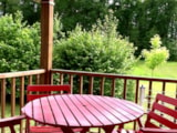 Rental - Mobil-home n°4 - Camping naturiste Le Champ de Guiral