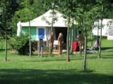 Rental - Tent  n°2 - Camping naturiste Le Champ de Guiral