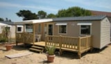 Rental - Le Sable D'or (3 Bedrooms / Terrace / Air-Conditioning) -8 Years - Camping Les Préveils