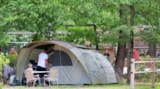 Pitch - Pitch : Car + Tent Or Caravan + Electricity 16A - Camping Le Paradis