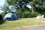 Pitch - Pitch Tent + Electricity - Camping Val Vert en Berry