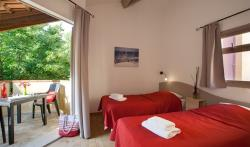 Chambre - Chambre Supérieure climatisation (double ou twin) - Homair - Camping Marina Paradise