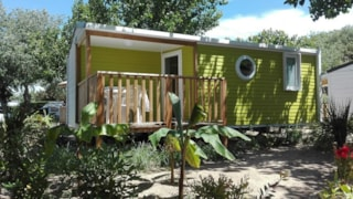 Mobile-Home Grand Confort 23M² - Half-Covered Terrace - 2 Bedrooms