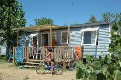 Accommodation - Mobile-Home Resort 29M² (3 Bedrooms) - Capfun - Domaine Les Fleurs d'Agde