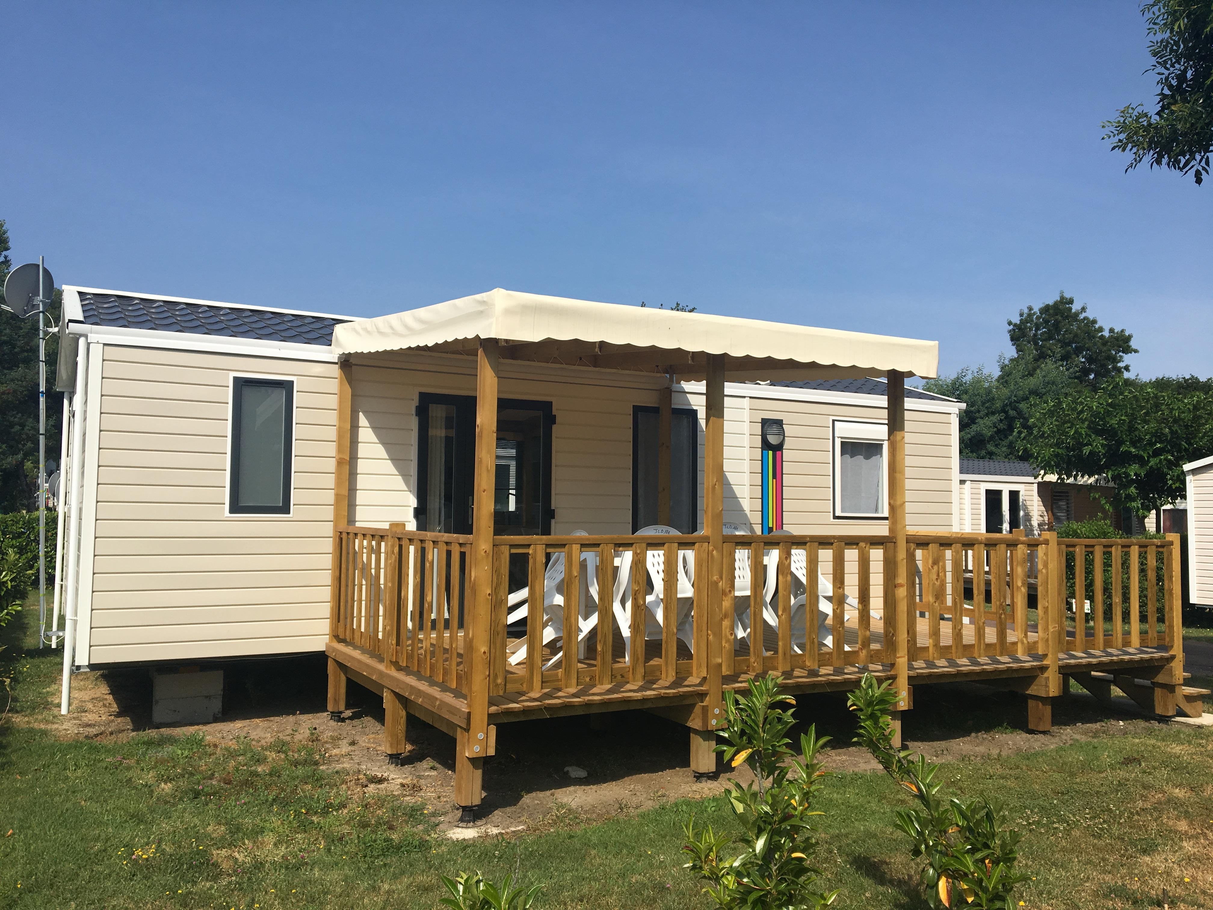 Mobil-home Gamme Confort (3 chambres)