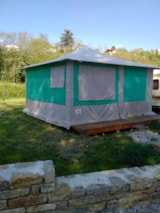 Pitch - Tent With Bedroom - Camping de l'Ile