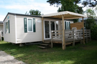 Mobilhome Evasion 27M² - 2 Bedrooms + Television