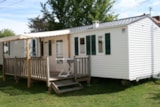 Rental - Mobile-Home Club 5 - 2 Bedrooms + Television - Camping du Vieux Château