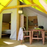Rental - ECOLODGE JUNIOR - 2 Bedrooms (without toilet blocks) - Camping Riva Bella
