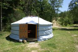 Mongolian Yurt - without toilet blocks