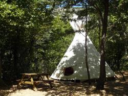 Tipi - without toilet blocks