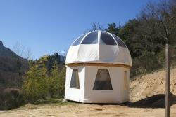 Bubble-tent - without toilet blocks