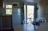 Rental - Cottage Family 32m² - 3 bedrooms - Camping Le Mas des Chênes