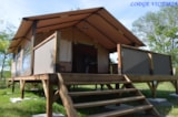 Rental - Lodge Victoria 30M² (Without Toilet Blocks) - Camping Le Mas des Chênes