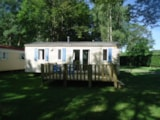 Rental - Mobilhome (2009) 6 persons / 3 bedrooms - Camping Des Prairies d'Auvergne