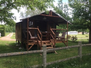 Lodge River view (2 bedrooms) + sheltered terrace
