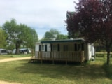 Rental - Mobile-home (3 bedrooms) + covered terrace - Camping Morédéna