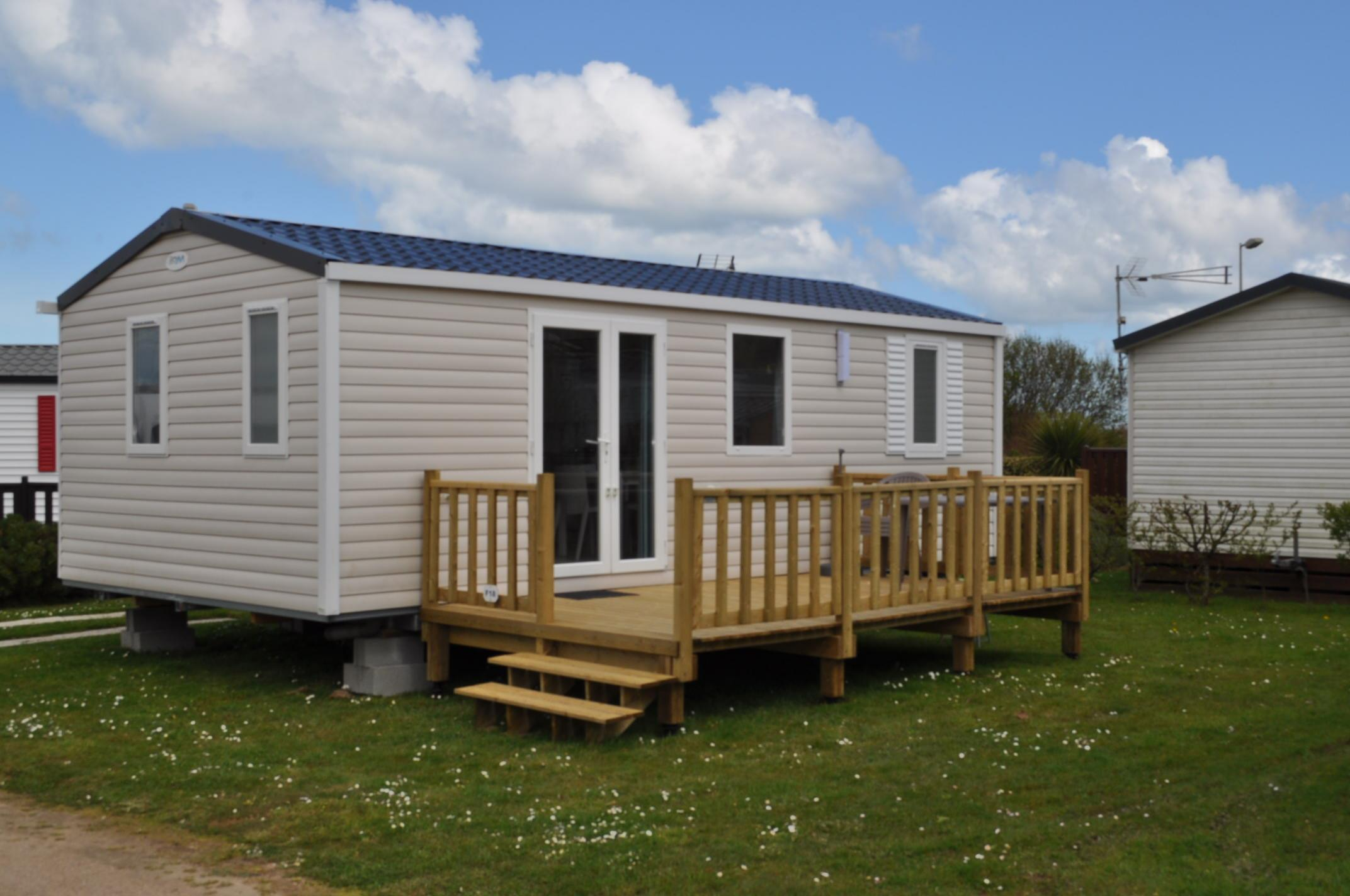 Location - Mobile Home 2 Chambres - Camping Cotentin