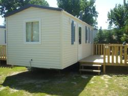 Locatifs - Mobil home TAHITI 21m² - 2 chambres - Camping Le Carrefour