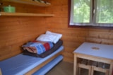 Rental - Mini-chalet without toilet blocks Anaïs - Camping les Aurandeix