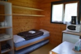 Rental - Mini-chalet without toilet blocks Isabelle - Camping les Aurandeix