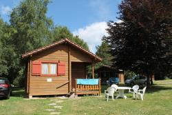 Accommodation - Mini-Chalet Without Toilet Blocks Olga - Camping les Aurandeix