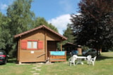 Rental - Mini-chalet without toilet blocks Olga - Camping les Aurandeix