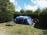 Pitch - Pitch 2 people without electricity including 1 car + 1 tent OR 1 car + caravan OR 1 camper - Camping les Aurandeix