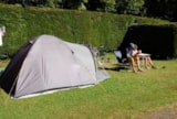 Pitch - Halte Cyclo / Rando: 1 person, 1 tent, 1 bike or motorbike - Camping les Aurandeix