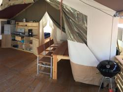 Rental - SmileSafari Wood - Camping Valkanela by SmileCamp