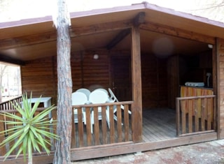 Wooden bungalow 2+2 22 m²