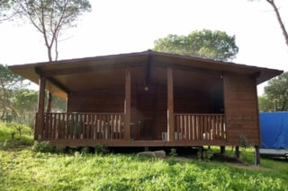 Wooden bungalow 35 m²