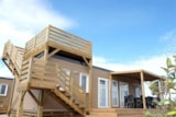 Rental - Mobil Home 3 Bedrooms Solarium (Bs36) - Privilège Club - Amac Camping les Dunes