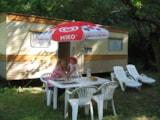 Rental - Summer caravan all equipped - Camping les Tomasses