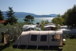 Pitch - Pitch : car + tent/caravan or camping-car + electricity 6A - Camping Residence Onda Blu