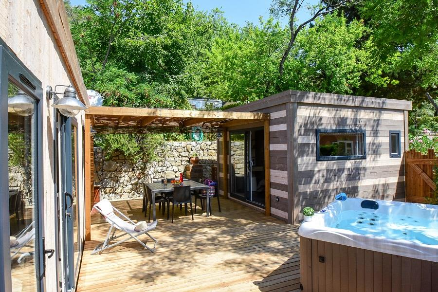 Huuraccommodatie - Cottage Premium Spa - Sites et Paysages Les Pinèdes
