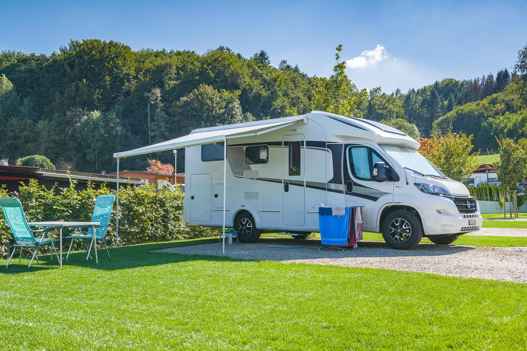 Comfort pitch >120sqm (caravans and motorhomes only)