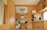 Rental - Caravan: electricity, car, pet and max 2 people included - Campingplatz Olympiasee